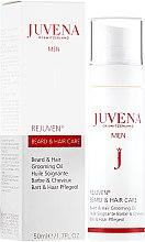 Парфюми, Парфюмерия, козметика Масло за коса и брада - Juvena Rejuven Men Beard & Hair Grooming Oil