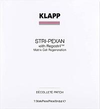 Парфюмерия и Козметика Пач маска за деколте - Klapp Stri-Pexan Decollete Patch