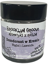 Парфюми, Парфюмерия, козметика Дезодорант-крем с аромат на лавандула и лимонова трева - Brooklyn Groove Deodorant Cream