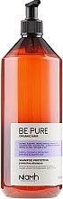 Парфюми, Парфюмерия, козметика Защитен шампоан за боядисана и изсветлена коса - Niamh Hairconcept Be Pure Protective Shampoo