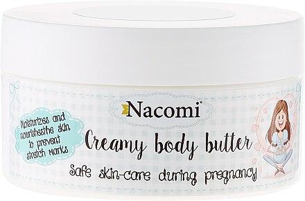 Масло за бременни - Nacomi Pregnant Care Creamy Body Butter — снимка N1