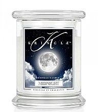 Парфюми, Парфюмерия, козметика Ароматна свещ в бурканче - Kringle Candle Midnight