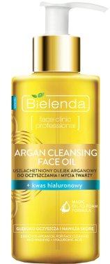 Почистващо масло за лице с агран и хуалуронова киселина - Bielenda Argan Cleansing Face Oil