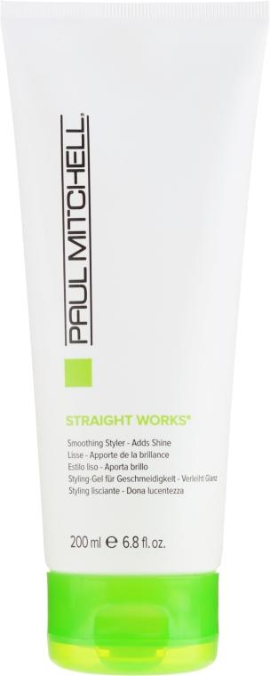 Продукт за изправяне на косата - Paul Mitchell Smoothing Straight Works — снимка N1