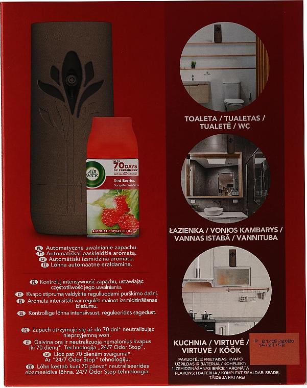 Автоматичен освежител за въздух - Air Wick Freshmatic Red Berries Juicy Forest Fruits — снимка N2