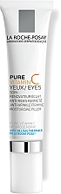 Парфюмерия и Козметика Антистареещо комплексно лечение за чувствителна кожа около очите - La Roche-Posay Redermic C Anti-Wrinkle Firming