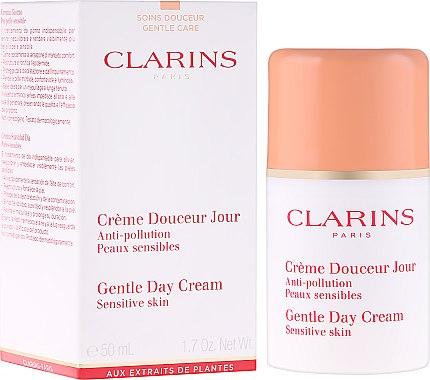 Дневен крем за лице - Clarins Gentle Day Cream — снимка N1