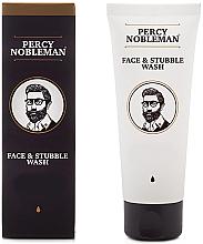 Парфюмерия и Козметика Измиващ гел за лице и брада - Percy Nobleman Face & Stubble Wash