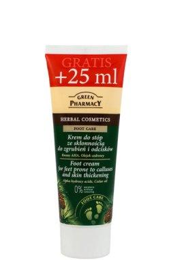 """Крем за крака против мехури и мазоли """"AHA-киселини и кедрово масло"""" - Green Pharmacy"""