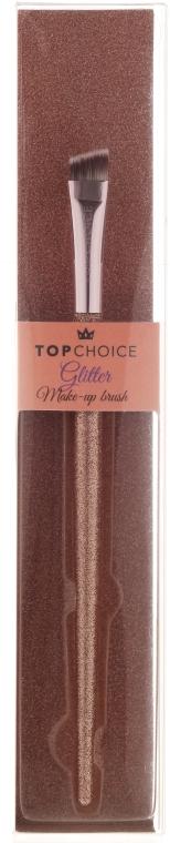 Четка за вежди и очна линия 37443 - Top Choice Glitter Make-up Brush