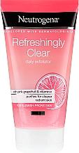 Парфюмерия и Козметика Скраб за лице с розов грейпфрут и витамин С - Neutrogena Refreshingly Clear Daily Exfoliator
