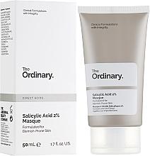 Парфюмерия и Козметика Маска за лице с 2% салицилова киселина - The Ordinary Salicylic Acid 2% Masque