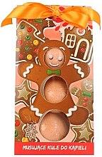 """Парфюмерия и Козметика Детски бомбички за вана """"Джинджифилови бисквити"""" - Chlapu Chlap"""