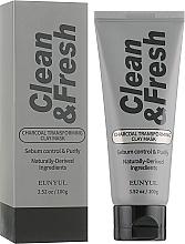 Парфюмерия и Козметика Глинена маска за лице с активен въглен - Eunyul Clean & Fresh Charcoal Transforming Clay Mask
