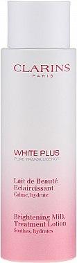 Омекотяващо мляко за лице - Clarins White Plus Brightening Milk Treatment Lotion — снимка N1
