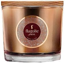 """Парфюмерия и Козметика Ароматна свещ в чаша """"Шоколад"""" - Flagolie Fragranced Candle Chocolate"""