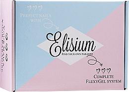 Парфюмерия и Козметика Комплект за нокти - Elisium Diamond Maxi (лак/5*15ml + пудра/3*23g)
