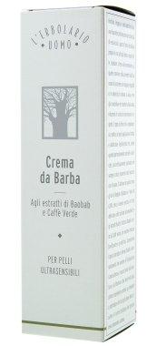 "Крем для бритья ""Баобаб"" - L'erbolario Uomo Baobab Crema da Barba (мини) — снимка N4"