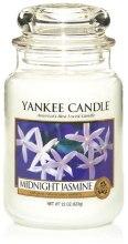 "Парфюми, Парфюмерия, козметика Ароматна свещ ""Нощен жасмин"" - Yankee Candle Midnight Jasmine"