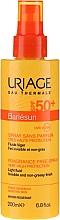 Парфюмерия и Козметика Слънцезащитен спрей за лице и тяло - Uriage Bariesun Spray Sans Parfum SPF50+