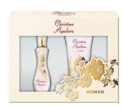 Парфюми, Парфюмерия, козметика Christina Aguilera Woman - Комплект (edp 30ml + sh\g 50ml)