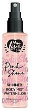 """Парфюмерия и Козметика Блестящ спрей за тяло """"Диня"""" - MonoLove Bio Shimmer Body Mist Watermelon Pink Shine"""