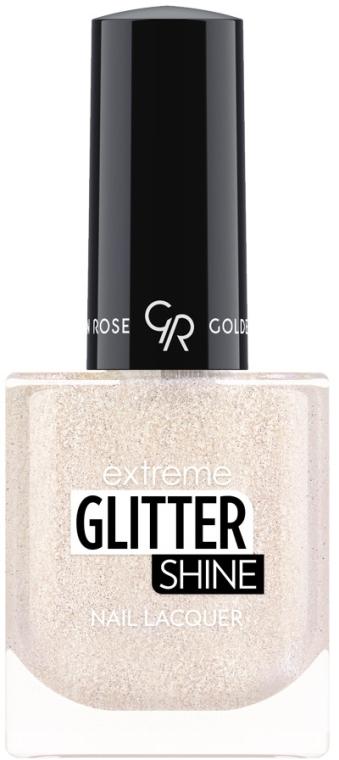 Лак за нокти - Golden Rose Extreme Glitter Shine Nail Lacquer