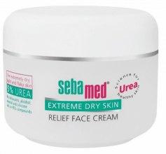 Парфюми, Парфюмерия, козметика Крем за лице за много суха кожа - Sebamed Extreme Dry Skin Relief Face Cream 5% Urea