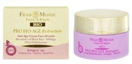 Парфюми, Парфюмерия, козметика Антистареещ дневен крем за лице 50+ - Frais Monde Pro Bio-Age Restructure AntiAge Face Cream 50Years