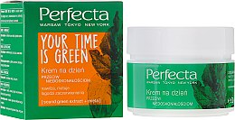 Дневен крем за лице - Perfecta Your Time is Green — снимка N1