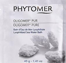 Парфюмерия и Козметика Вана от морска лиофилизирана вода - Phytomer Oligomer Lyophilized Seawater Bath