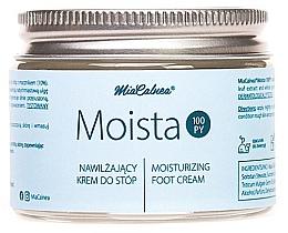 Парфюмерия и Козметика Овлажняващ крем за крака - MiaCalnea Moisturizing Foot Cream