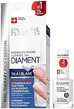 Парфюмерия и Козметика Диамантен възстановяващ комплекс за нокти - Eveline Cosmetics Nail Therapy Professional