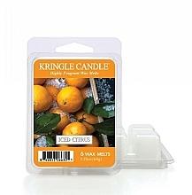 Парфюмерия и Козметика Ароматен восък - Kringle Candle Wax Melt Iced Citrus