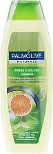 Парфюми, Парфюмерия, козметика Освежаващ шампоан за обем с цитрусов екстракт и комплекс от витамини - Palmolive Naturals Fresh & Volume Shampoo