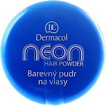 Парфюми, Парфюмерия, козметика Оцветяваща пудра за коса - Dermacol Neon Hair Powder