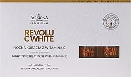 Парфюми, Парфюмерия, козметика Нощен концентрат с витамин С - Farmona Professional Revolu C White