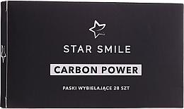 Парфюмерия и Козметика Избелващи ленти за зъби - Star Smile Carbon Power Whitening Strips