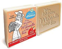 Парфюмерия и Козметика Комплект сапуни - Secrets De Provence My Marseille Soap Sweet Peach (2x100g)
