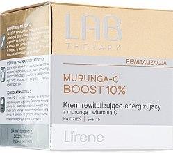 Парфюми, Парфюмерия, козметика Възстановяващ дневен крем за лице - Lirene Lab Therapy Revitalization Murunga-C Boost 10% SPF15