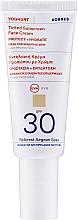 Тониращ слънцезащитен крем за лице - Korres Yoghurt Tinted Sunscreen Face Cream SPF30 — снимка N1
