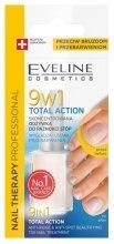 Парфюми, Парфюмерия, козметика Лечебен лак за нокти 9в1 - Eveline Cosmetics Nail Therapy Total Action 9w1