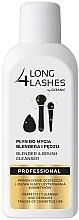 Парфюмерия и Козметика Течност за почистване на гъби за грим и четки - Long4Lashes Blender and Brash Cleanser