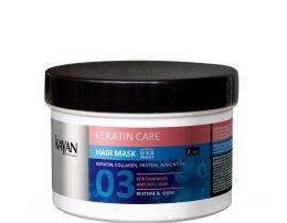 Парфюмерия и Козметика Маска за увредена и суха коса - Kayan Professional Keratin Care Hair Mask