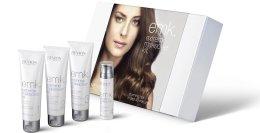 Парфюми, Парфюмерия, козметика Комплект за кератинова процедура - Revlon Professional Extreme Makeover Kit EMK (shm/75ml + shm/75ml + treat/75ml + serum/30ml)