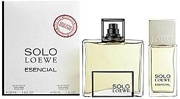 Парфюмерия и Козметика Loewe Solo Esencial - Комплект тоалетна вода (edt/100ml+ edt/30ml)