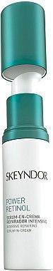 Възстановяващ крем-серум - Skeyndor Power Retinol Intensive Repairing Serum-in-Cream — снимка N1