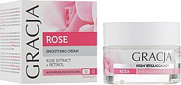 Парфюмерия и Козметика Подхранващ крем за лице с екстракт от роза - Gracja Rose Face Cream