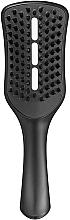 Парфюмерия и Козметика Четка за оформяне със сешоар - Tangle Teezer Easy Dry & Go Jet Black