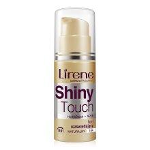 Парфюмерия и Козметика Изсветляващ крем-флуид за лице - Lirene Shiny Touch Illuminating Fluid